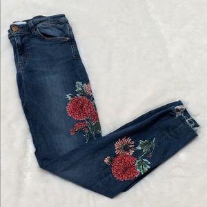 Zara Premium Denim Shorts